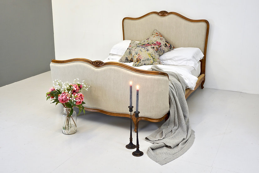 French Corbeille End Double Bed