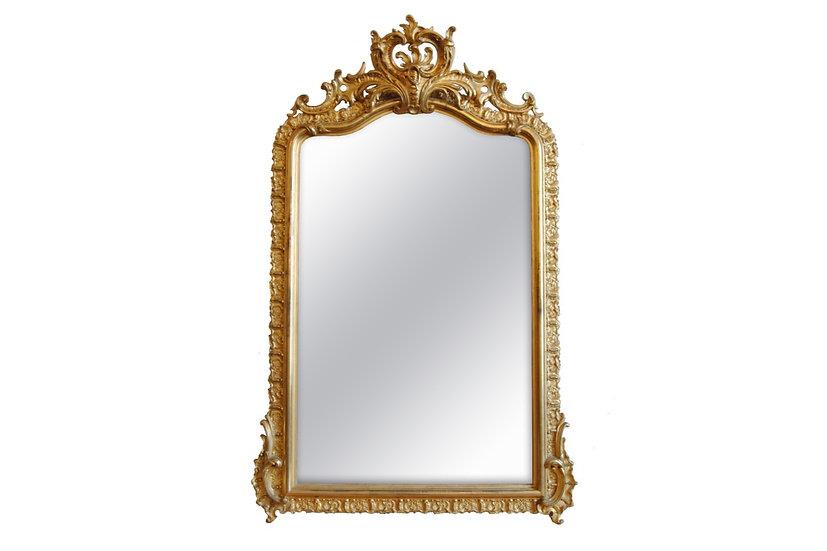 Decorative Overmantel Mirror