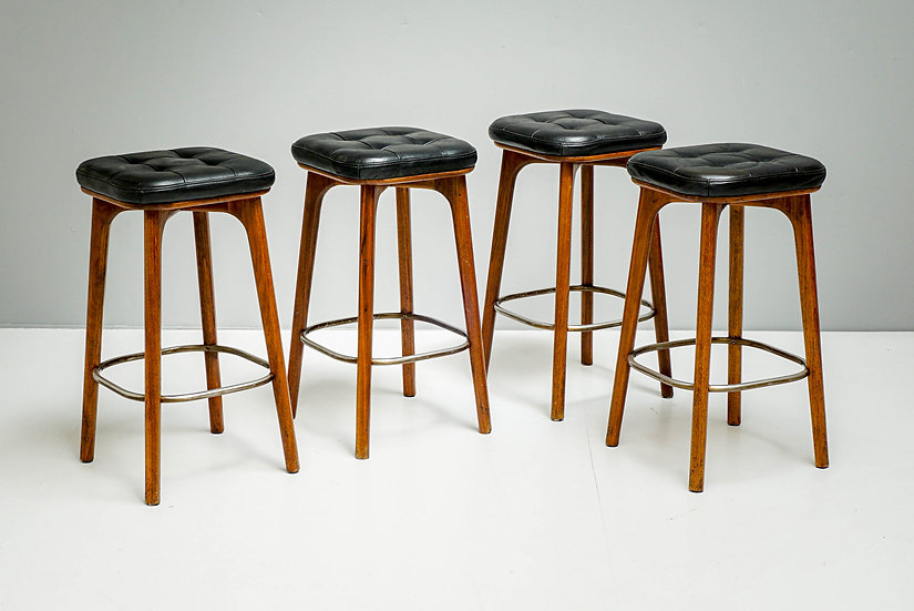 Set of 4 Utility Stools by Stella Works