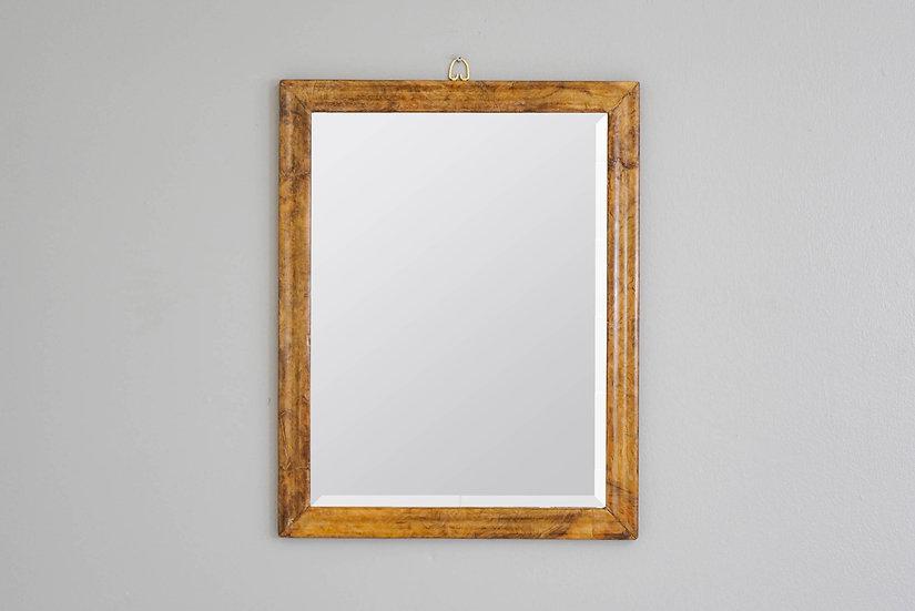 Rectangular Walnut Mirror