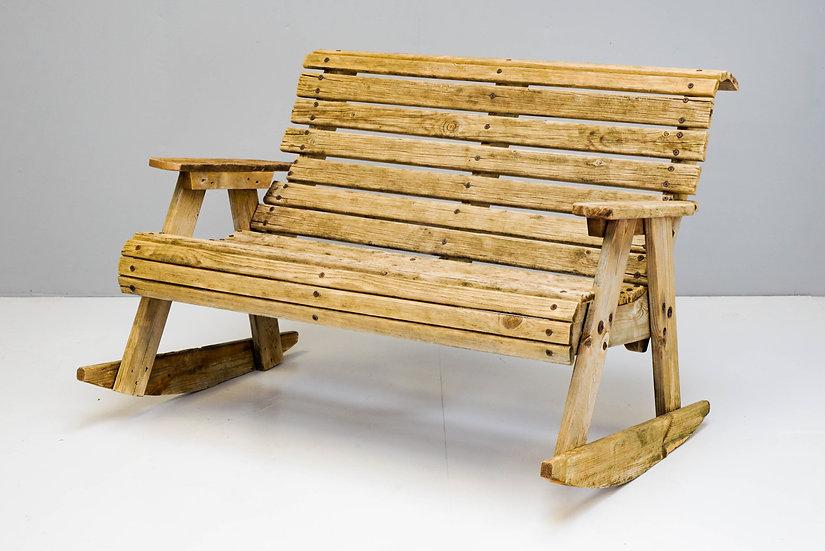 Garden Rocking Bench