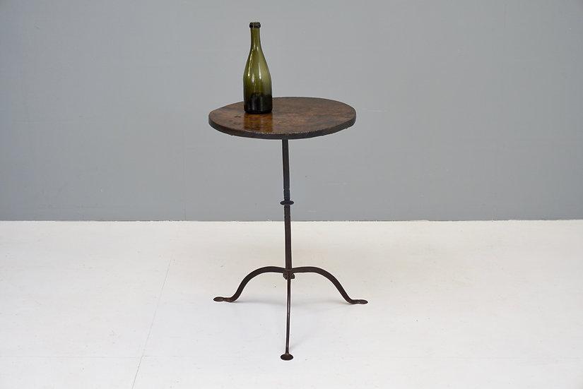 Steel Based Tripod Table