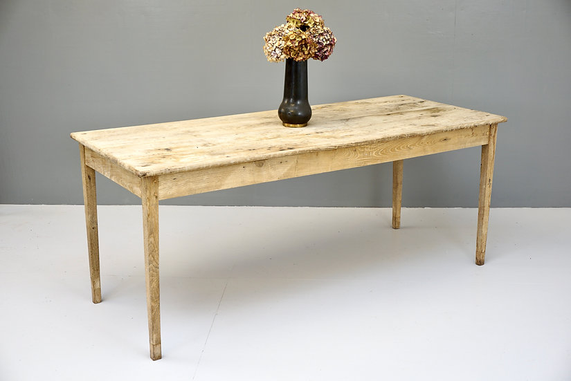 High Oak Dining Table