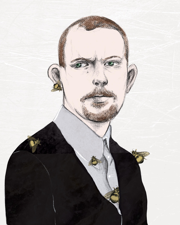 Alexander McQueen Portrait