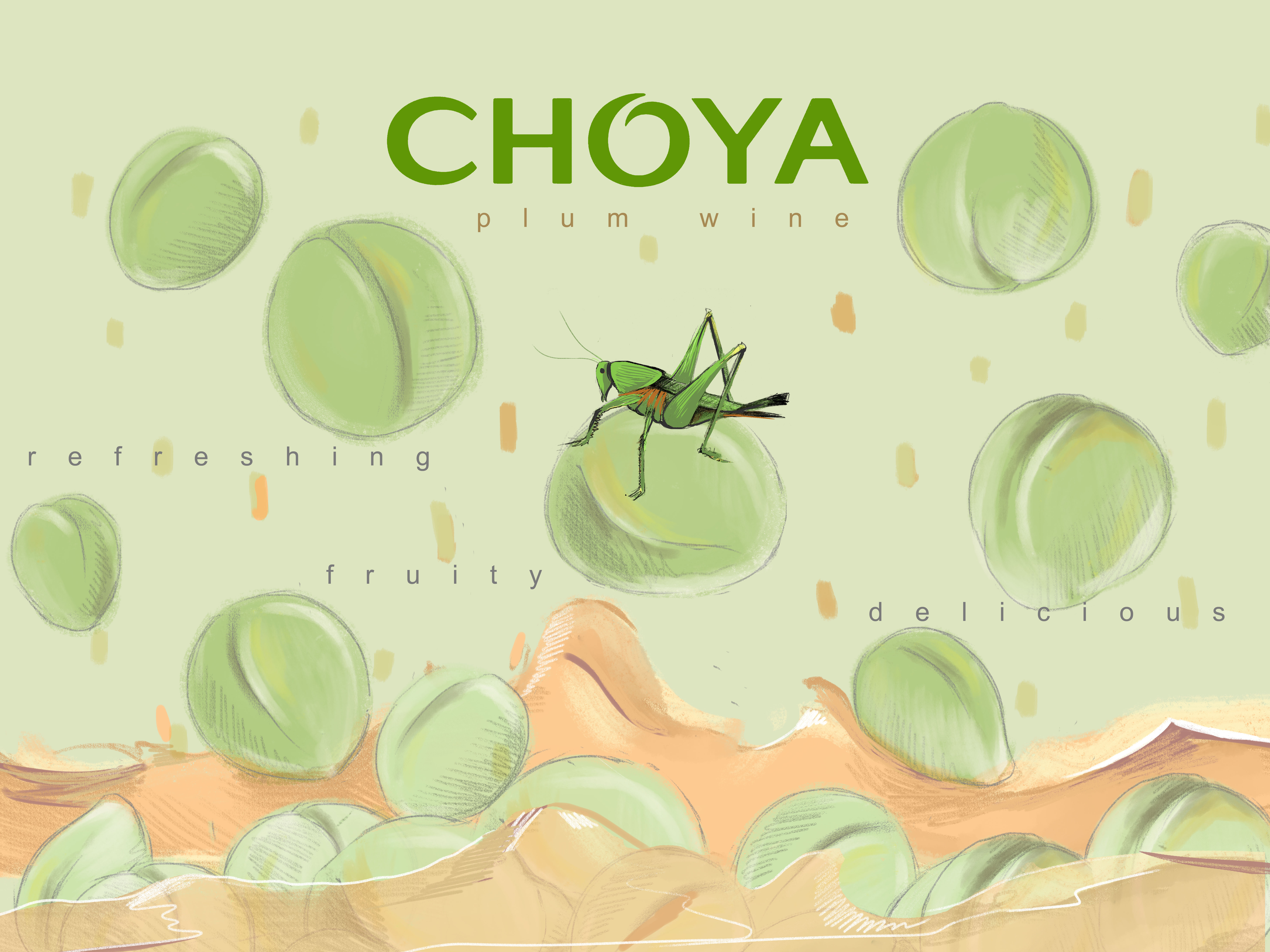 Choya Plum WIne