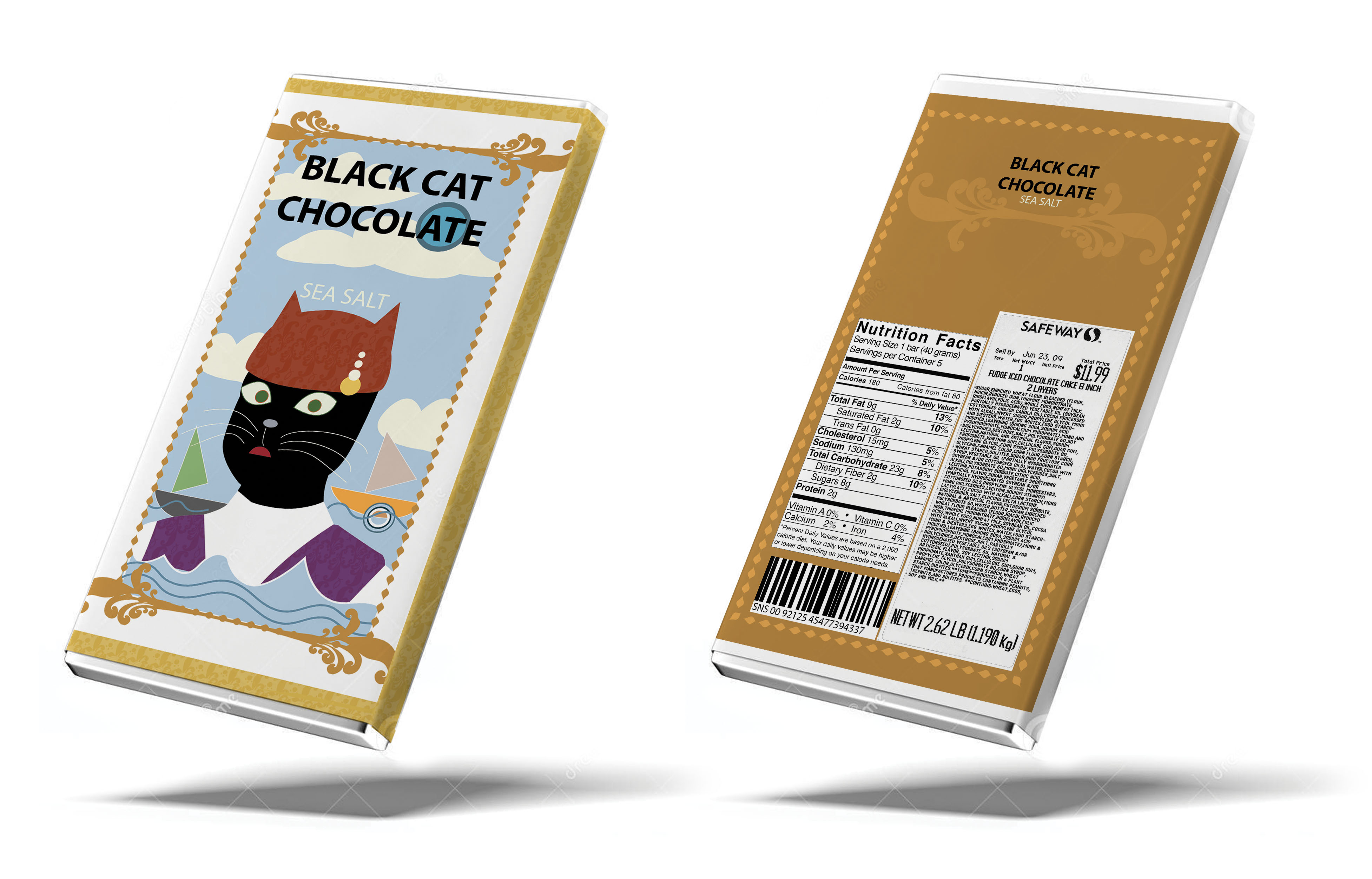 Black Cat Pakage design