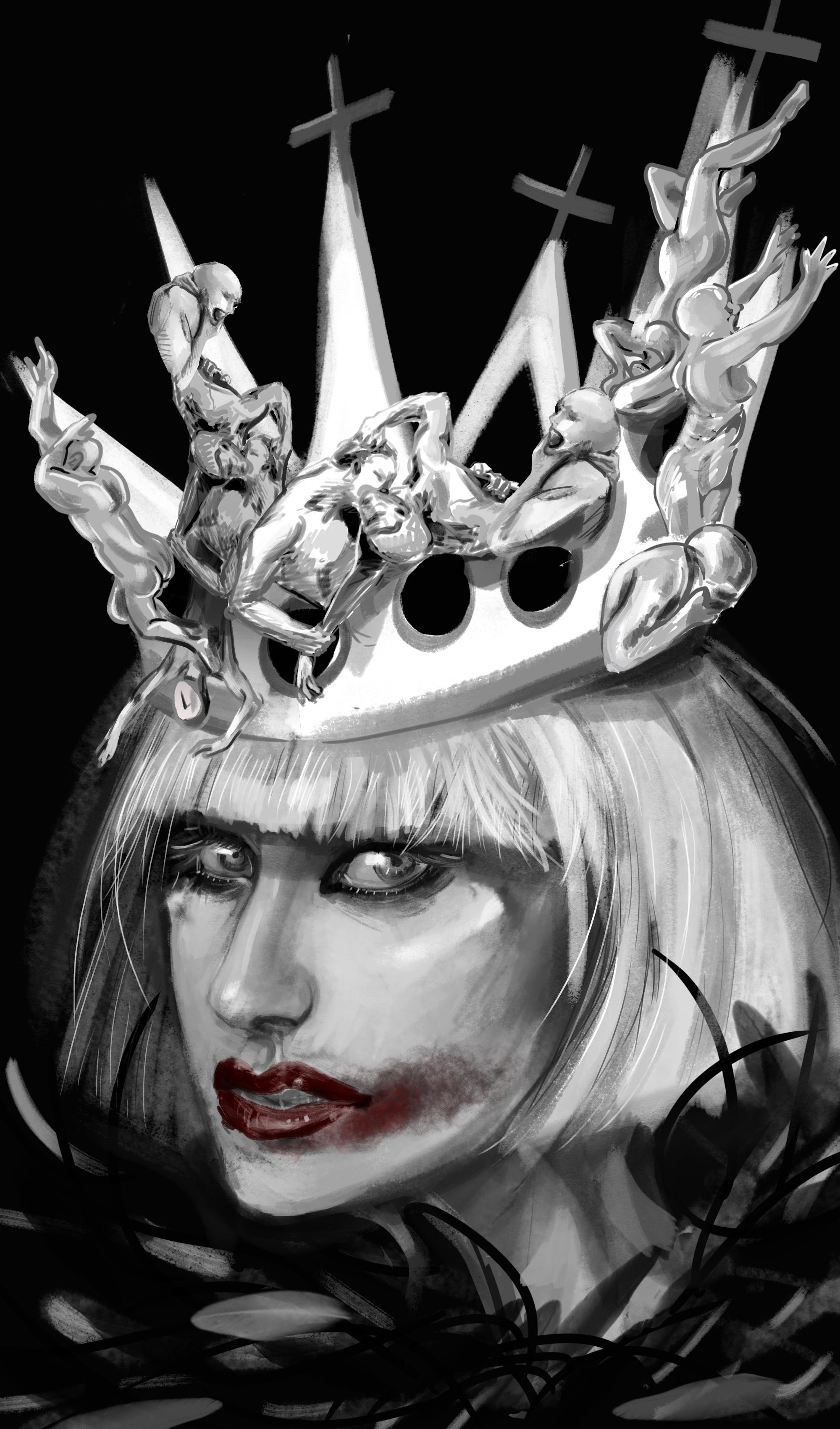 Lady Gaga character design