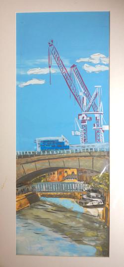 191 Deptford Bridge Sunny 62 x 27 L