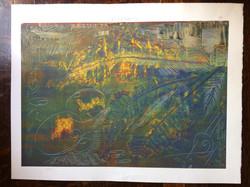 142 'Battlefront' 1 of 1 60 x 42 signed