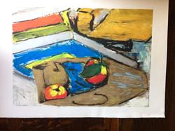 158 Mono Paint 1 of 2 42 x 60 L