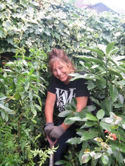 Gillian Gardening