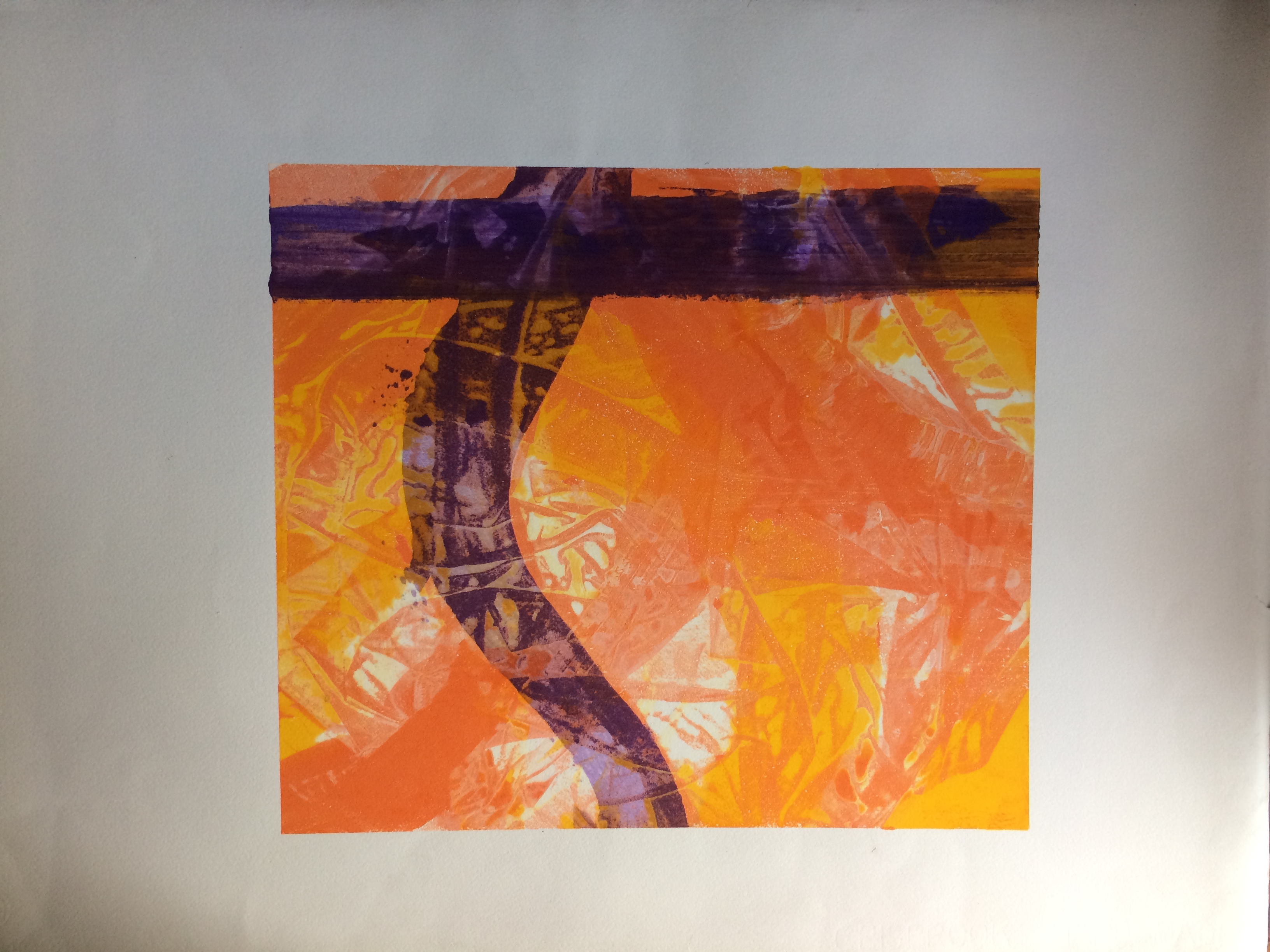 056 Monoprint 46 x 38