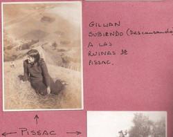 Gillian in Pissac, Peru