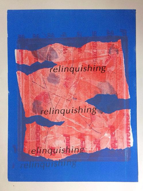 014 Relinquishing 60 x 45
