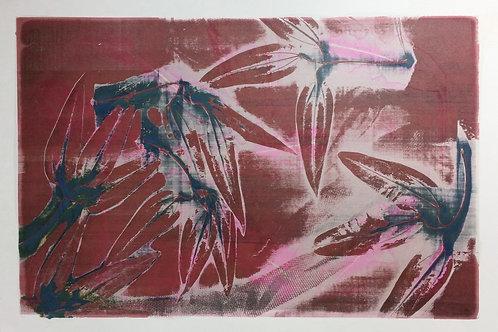 022 Monoprint 59 x 39
