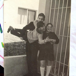 Gillian & her siblings