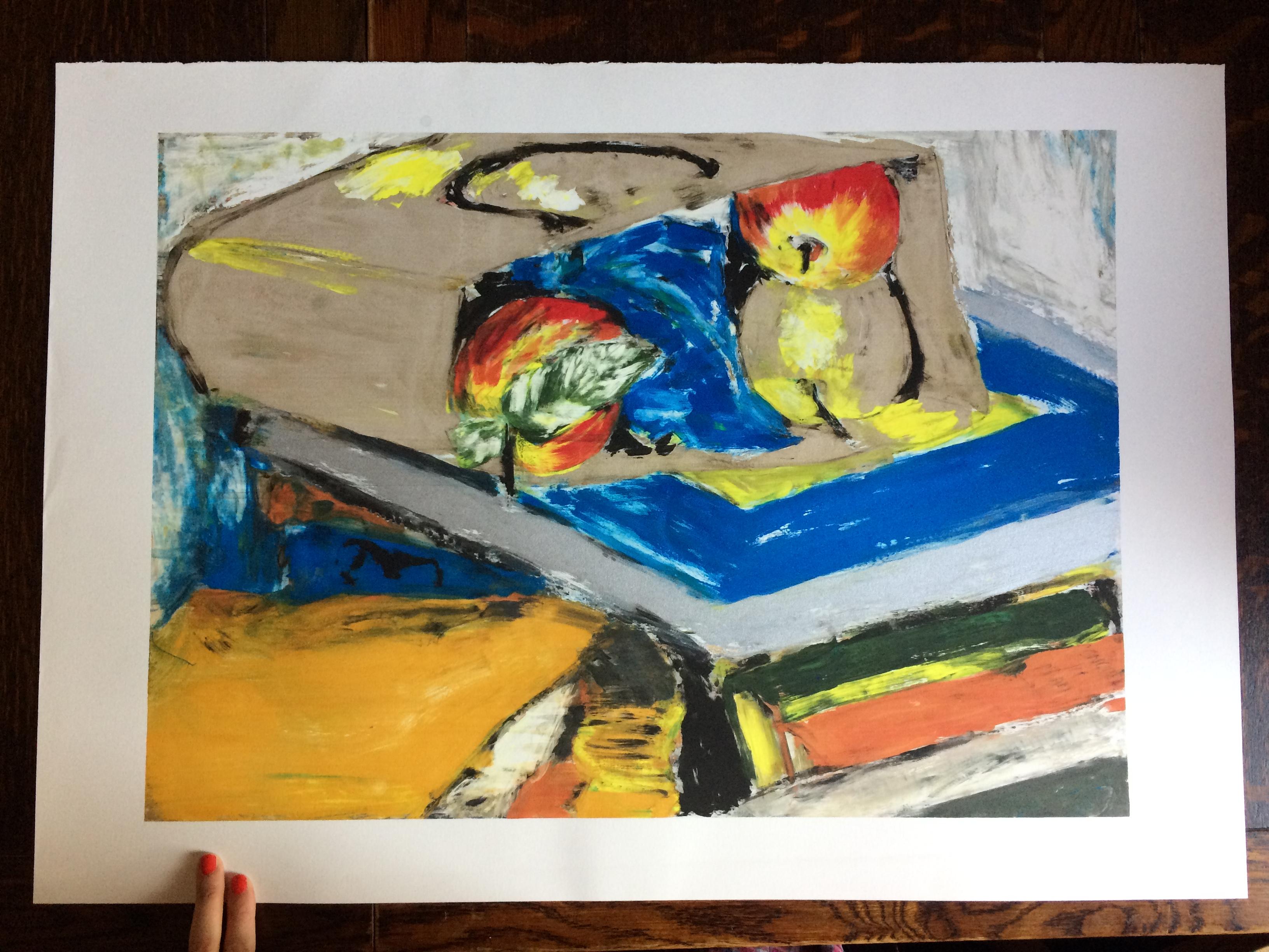 159 Mono Paint 2of2 42 x 60 L
