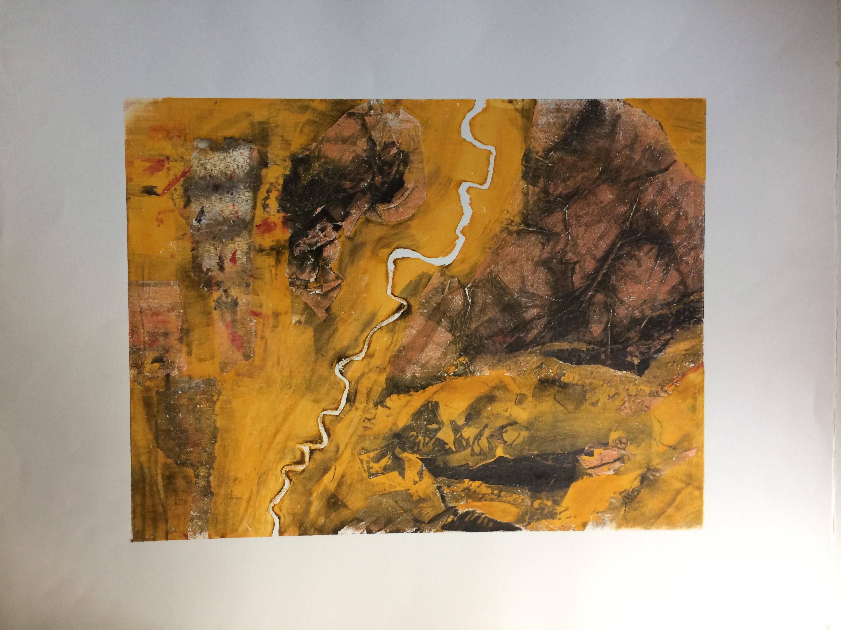 055 Monoprint 45 x 34