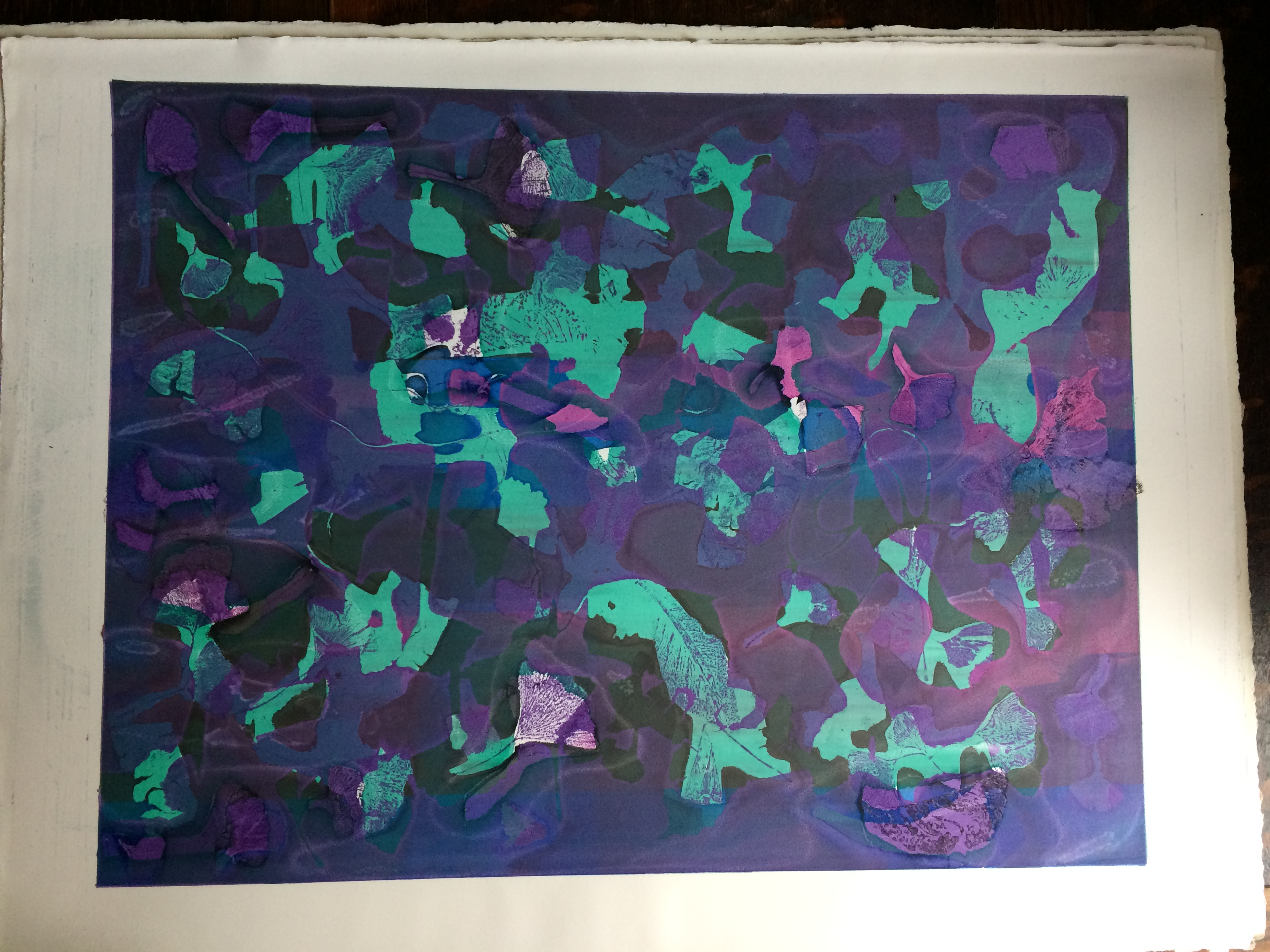 060 Green Purple64 x 48