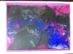 171 Monoprint drawing 61 x 46 L special