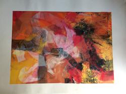 054 Monoprint 56 x 40