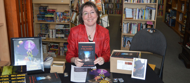 Book signings in a snow storm