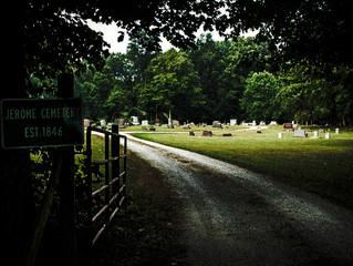 Indiana's Jerome Cemetery & the Hound of Hell