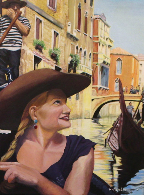 Cowgirl in Venice