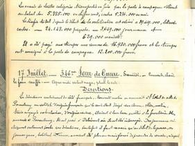 17 juillet 1915 – Désertions