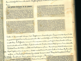 24 octobre 1914 – Coupure de presse : procédés allemands en Alsace