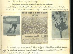 23 novembre 1914 - La disette frappe les pauvres