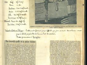 17 novembre 1914 - La presse présente les premiers « bombardiers »