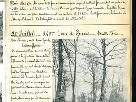 20 juillet 1915 – Echauffourée