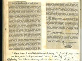 22 septembre 1914 – Bombardement d'une cathédrale
