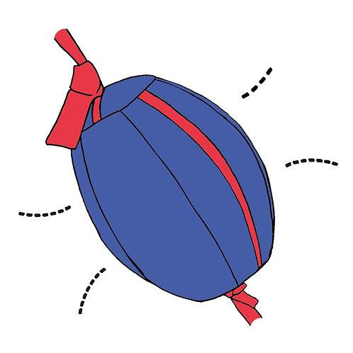 Box-Luftmatz, inkl. 2 Stoffbänder