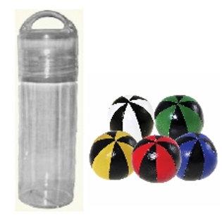 Taschen-Flasche «Jonglierbälle Senior»