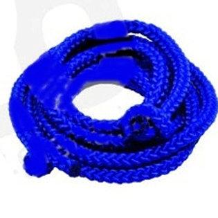 Seilspringen: Double Dutch Cloth Rope blau (Paar)