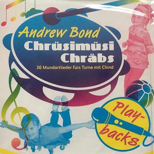 Chrüsimüsi Chräbs Playback-CD ohne Singstimmen