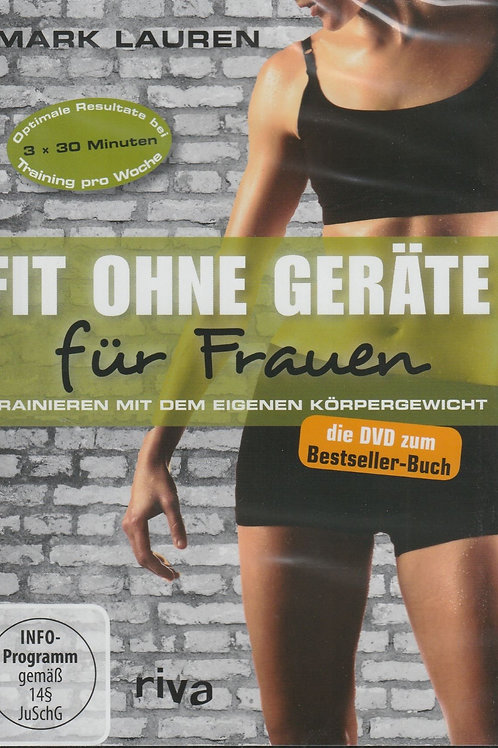 DVD Fit ohne Geräte für Frauen (M. Lauren)