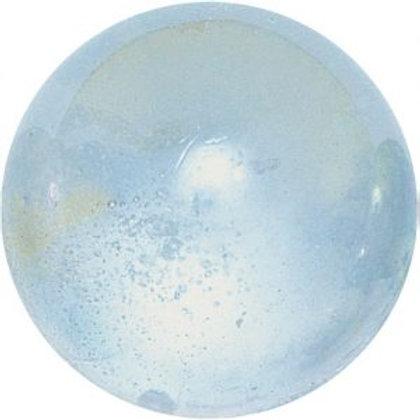 50 Glas-Murmeln  14 - 16 mm «Seifenblase»