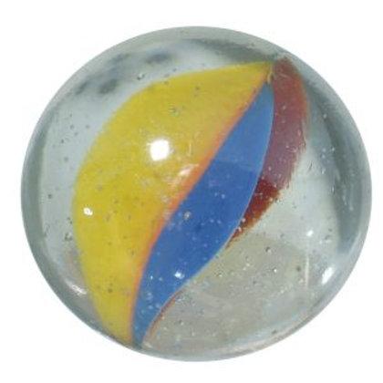 100 Glas-Murmeln 12 mm «Katzenauge»