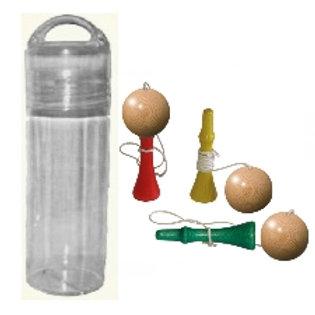 Taschen-Flasche «Kugelfangspiele»