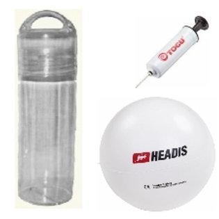 Taschen-Flasche «Headis-Ball & Pumpe»