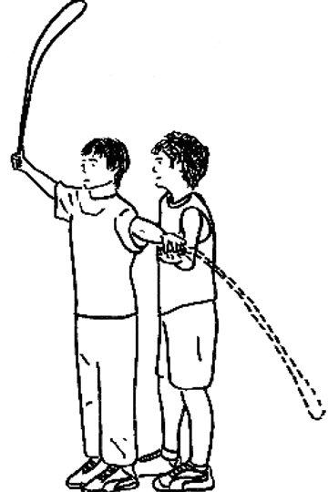 Postenkarten Springseil «Differenzierungsfähigkeit mit dem Seil»