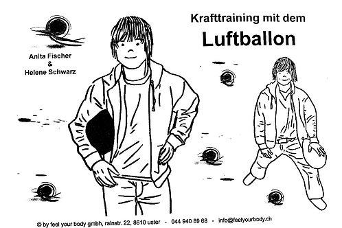 Krafttraining mit dem Luftballon (laminiert)