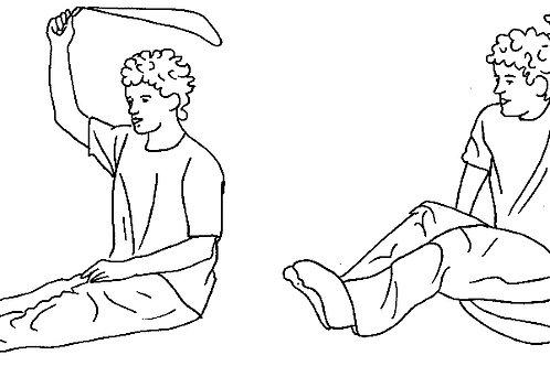 Postenkarten Springseil «Rhythmisierungsfähigkeit mit dem Seil»