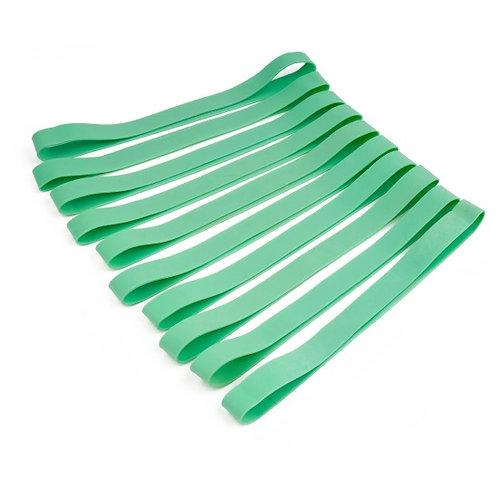 Sport-Thieme® Rubberbands 10er Set grün - leicht