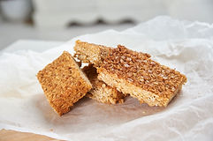 Butter and oat flapjack