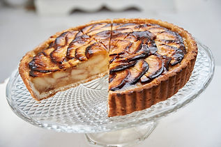 Normandy Apple tart, Pear and Almond tart, Pecan pie