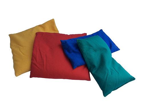 Gewichtsäckchen, 30 x 30 cm, diverse Farben